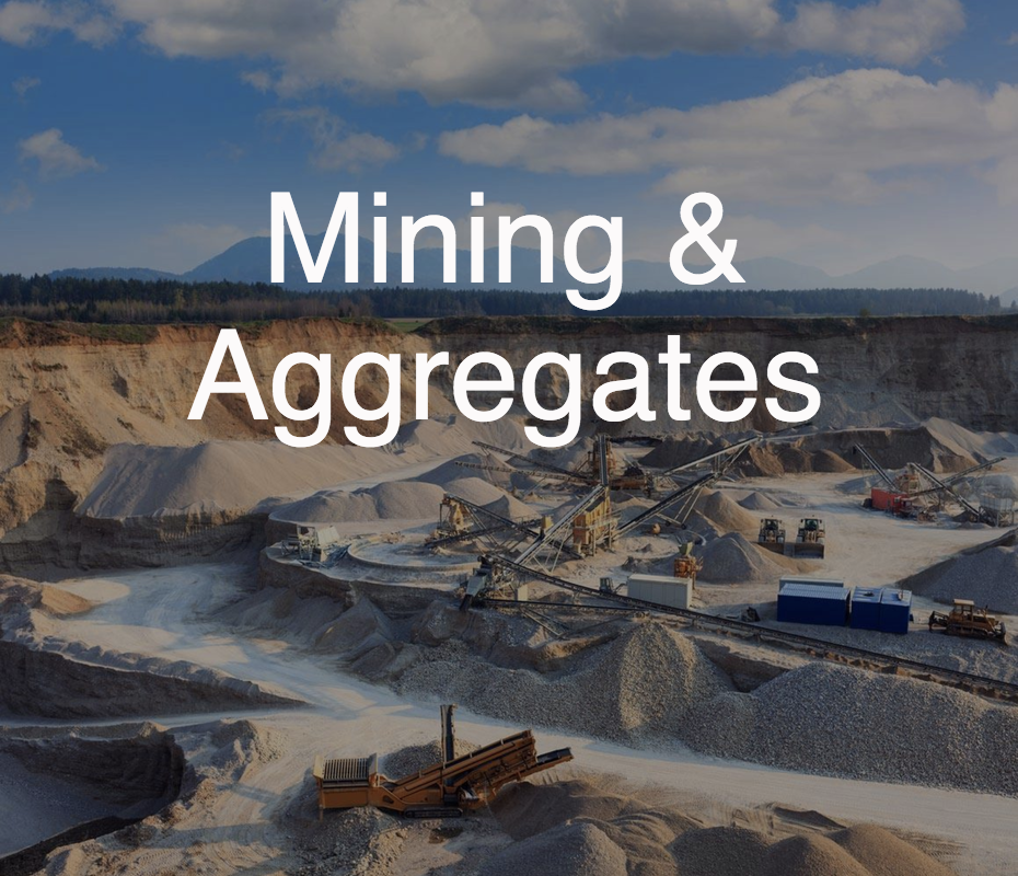 Mining and Aggregates service